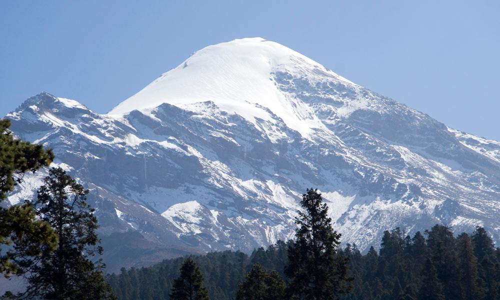 Pico de Orizaba from Tlachichuca