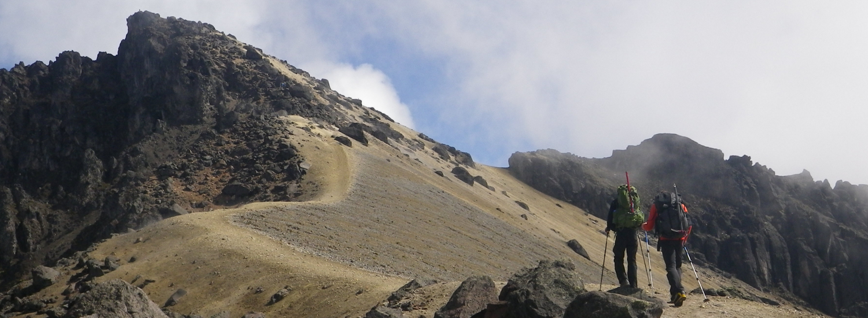 Acclimatization hike outside of Quito