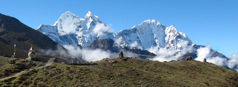 Trekking in the Khumbu Valley of Nepal