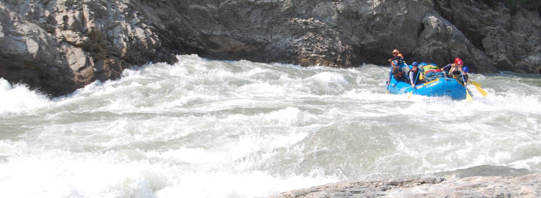 Rafting on the Sun Kosi River