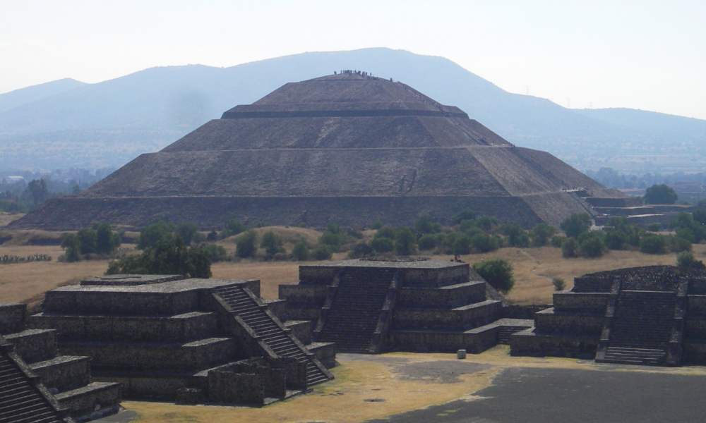 Visit to Teotihuacan after successful climbs
